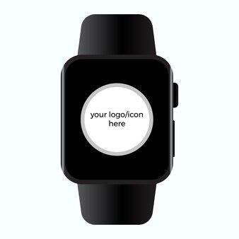 Smartwatch realistic mockup