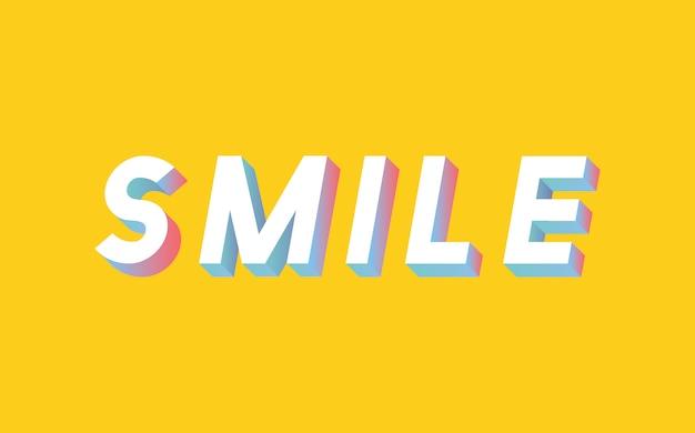 Smile banner