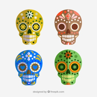 Smile sugar skull. dia de los muertos
