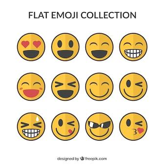 Emoticon sorridente pacco