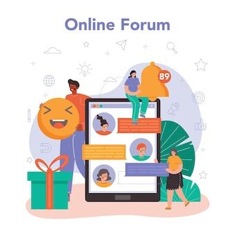 Smm social media marketing online service or platform