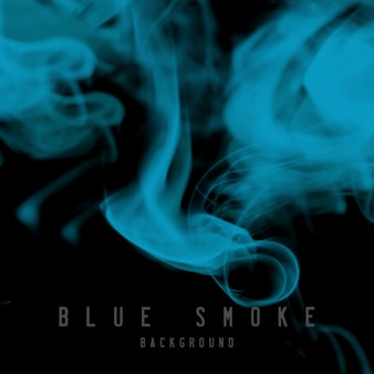 Smoke blue background