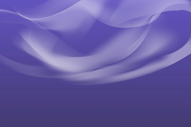 Smoke on purple background