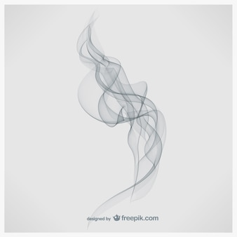 smoke white background