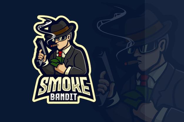 흡연자 마피아 e스포츠 로고