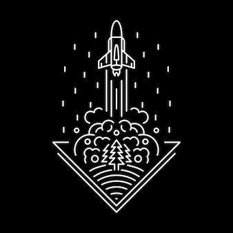 Дымчатая ракета
