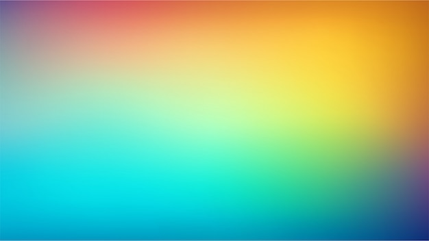 Smooth and blurry colorful gradient mesh background.