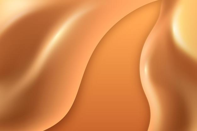 부드러운 황금 물결 벽지