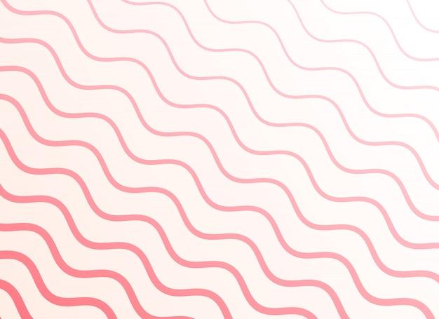 Sfondo liscio motivo ondulato rosa