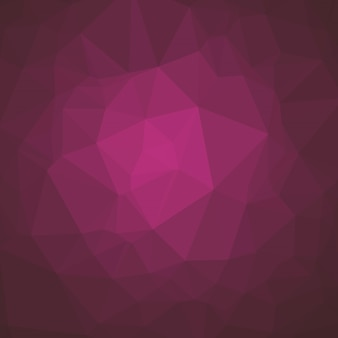 Smooth Polygonal Background in Mulberry Magenta Tones