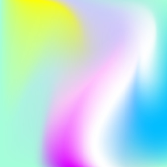 Smooth warped colors background