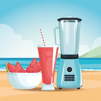 Smoothie and mixer