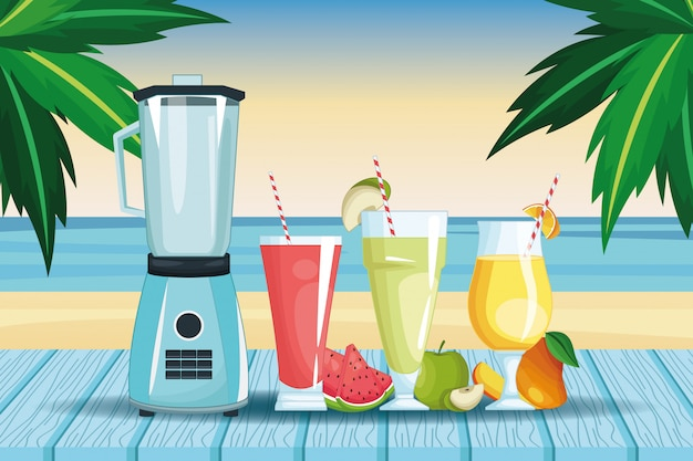 Smoothies and mixer