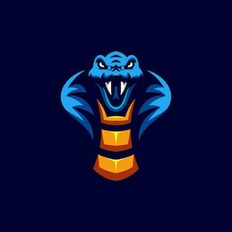 Snake head character design