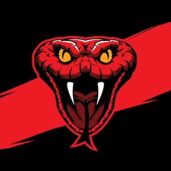 Snake head mascot