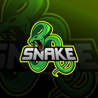 Змея логотип e спорт