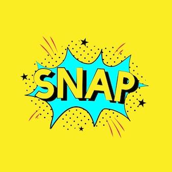 Snap explosion vector