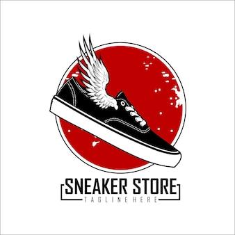 Sneaker logo store