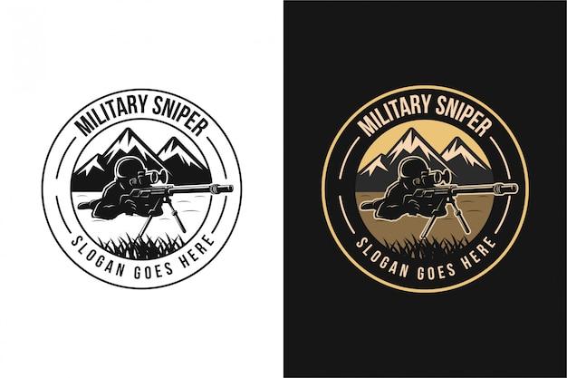 Sniper logo template