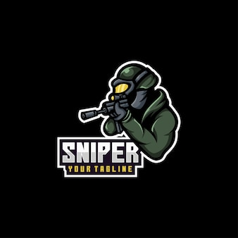Snipers soldier logo