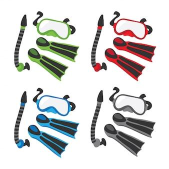 Snorkel vector collection design