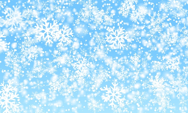 Snow background. winter snowfall. .