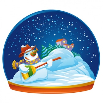 Snow dome design