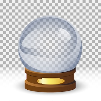 Snow globe ball