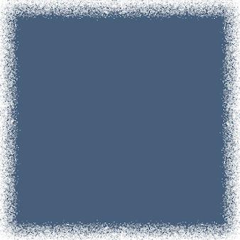 Snow texture frame