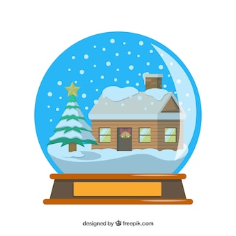Snowball background
