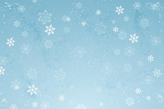 Снежинка фоновой иллюстрации