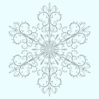 Snowflake for christmas