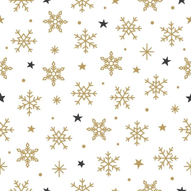 Snowflake pattern background.