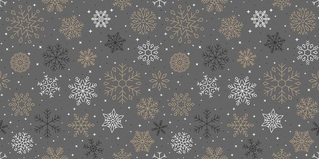 Снежинка узор, рождество и с новым годом фон