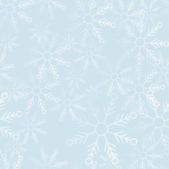 スノーフレークパターンデザインの背景