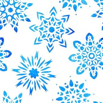 Снежинка бесшовные модели