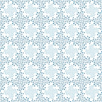 Snowflakesクリスマスと新年のデザインラッピングペーパーデザイン