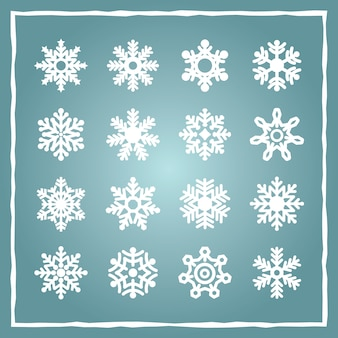 Snowflakes collection