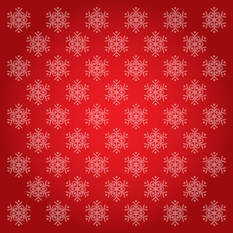 Snowflakes pattern and backgrounds red