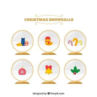 Snowglobe background