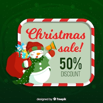 Snowman christmas sale background
