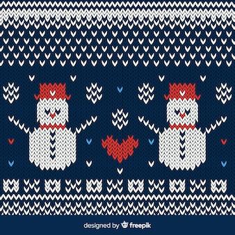 Snowmen background