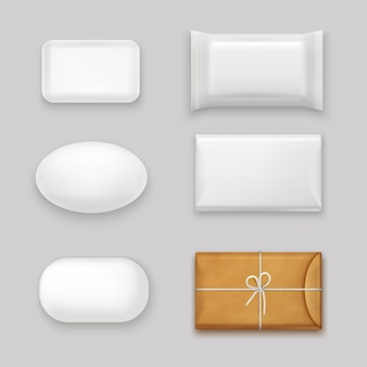 Soap bars set