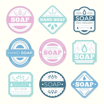 Soap label collection
