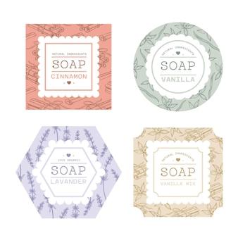 石鹸ラベルコレクション