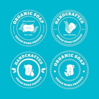 石鹸のロゴコレクション