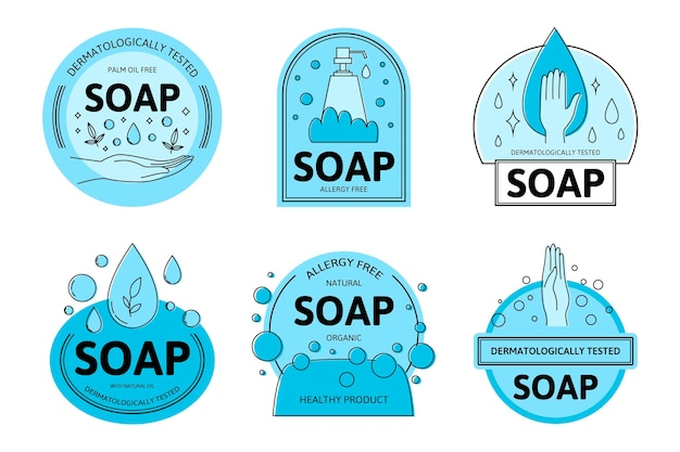 Soap logo collection