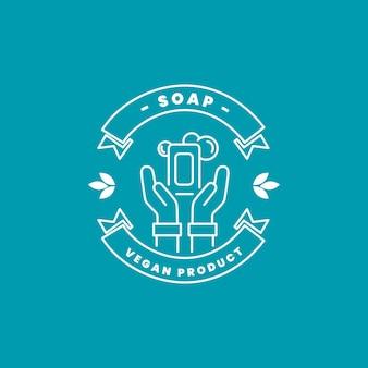 Шаблон логотипа мыла