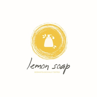Soap logo template