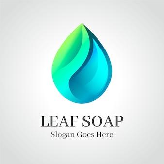 石鹸のロゴのテンプレート